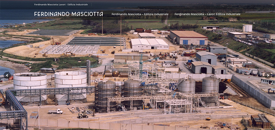 Ferdinando Masciotta edilizia industriale