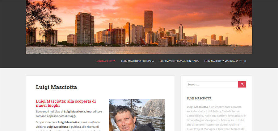 Luigi Masciotta recensioni viaggi