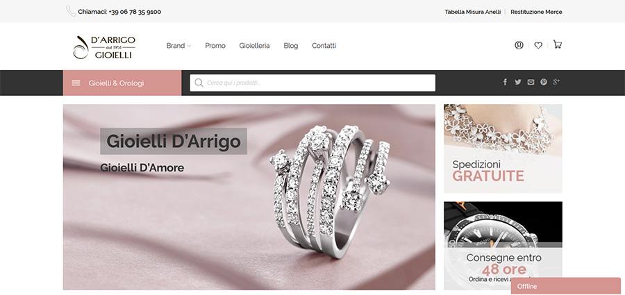 E-shop D'Arrigo