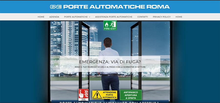 Porte automatiche Roma
