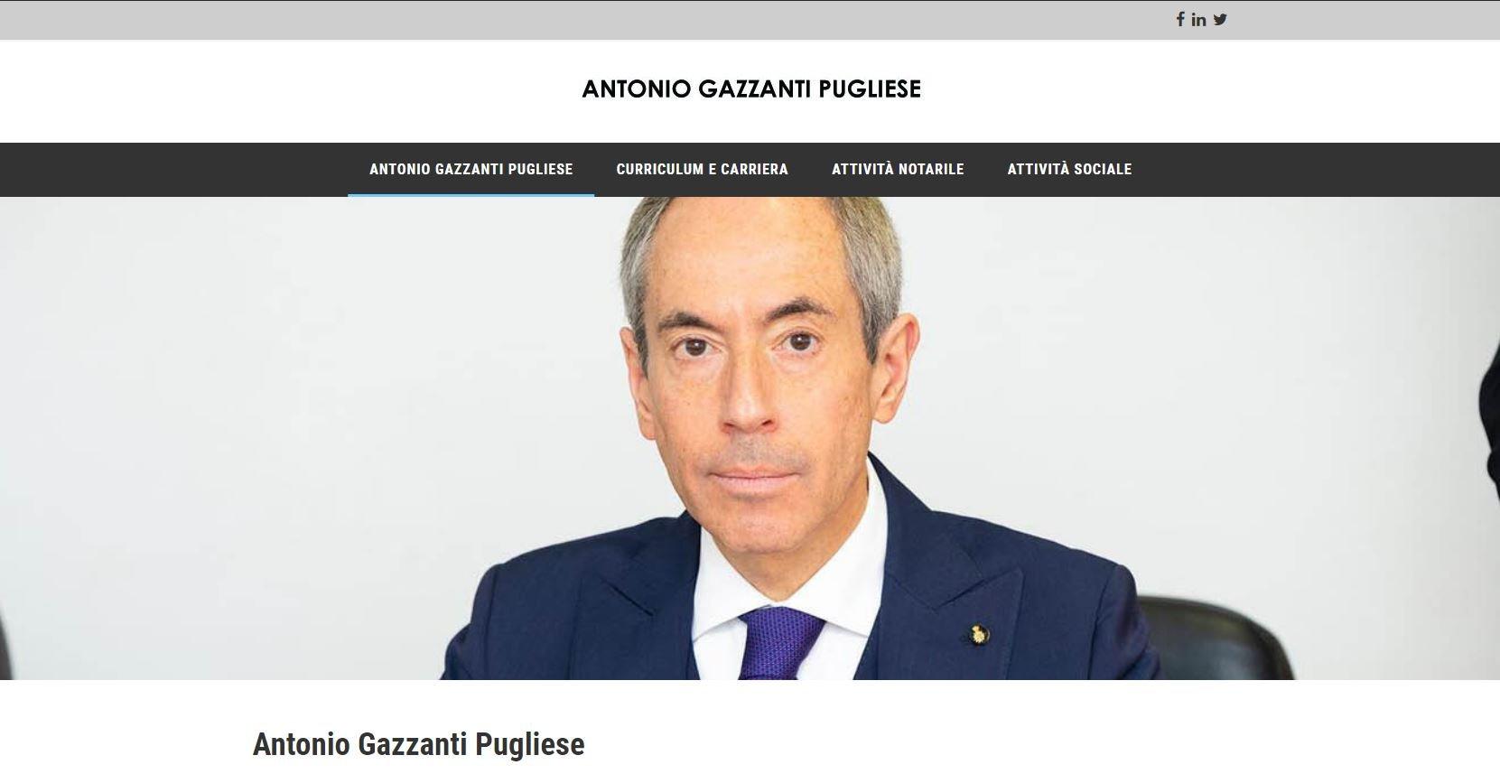 Antonio Gazzanti Pugliese Notaio